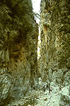 The 'Gates' in the gorge of Samaria