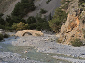 Old bridge in Agia Roumeli