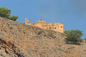 The turkish fort above Agia Roumeli